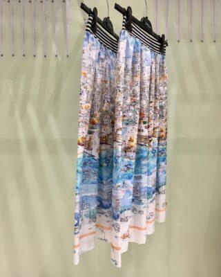 The Port Skirt. ⛵️  #fashion #skirt #greekbrand #greekdesigners #handmade #handcrafted #cotton #style #summer #ss21 #ss2021 #conceptstore