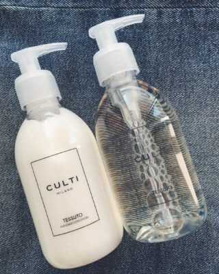 Culti Tessuto. For Hand & Body. An aromatic pairing to be used daily to maintain impeccably cleansed and supple skin. 🚿