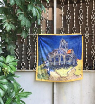 Meanwhile an artistic scarf in the center of Athens. Get yours now. 🌿