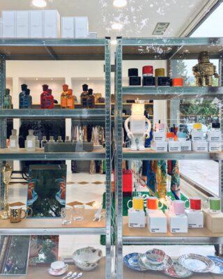 Design items at 1.4.U. 🤖  #design #milanodesignweek #supersalone #pantone #cultimilano #seletti