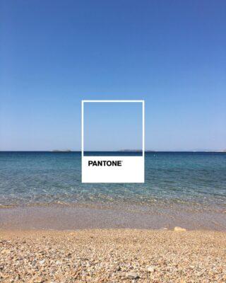 Pantone summer color. ⛱  #pantone #summer