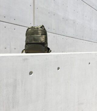 The Italica Nylon Backpack. New. 📐