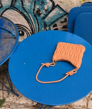 Procida. A mini handbag made out of vegan leather. Perfect for a summer night out. 🎷
