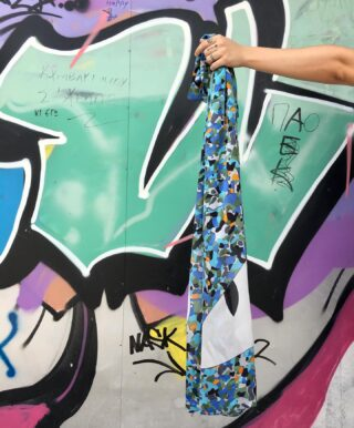 The Mosaico Silk Scarf. 👁