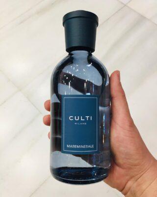 Culti Colours MAREMINELARE 250ml. Freshness & revitalization. 🌀  #culti #cultimilano #homediffuser #home #casa #diffuser #parfum